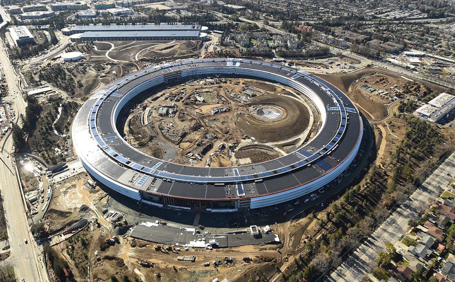 [09] Appel Campus, por Foster + Partners. [09] Apple Campus, por Foster + Partners